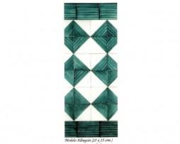01_modelo_albaicin_azulejo Azulejo árabe andaluz, modelo Albaicín