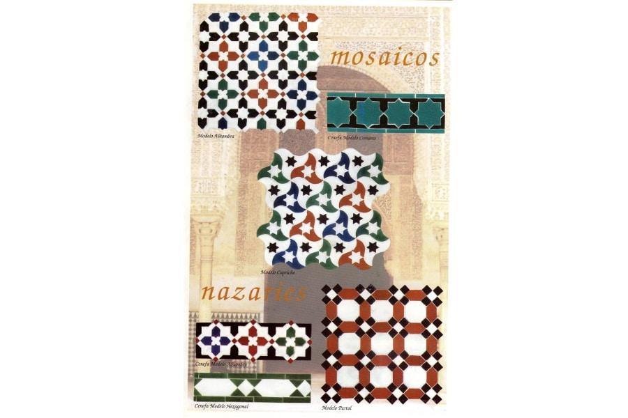 Mosaicos nazaries 1 andalusian arabian mosaics - Comprar decoracion arabe ...