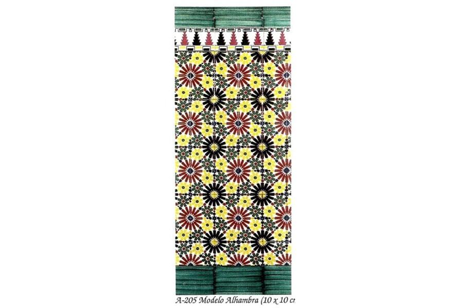 azulejo árabe andaluz,Alhambra