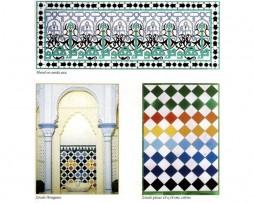 Mosaicos árabes andalusíes 4 – Andalusian Arabian mosaics 4