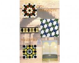 Mosaicos nazaríes 3 – Andalusian Arabian mosaics