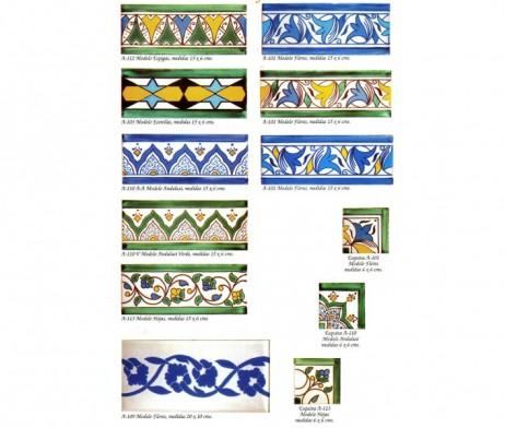 Cenefas andalusis cenefas para azulejos rabes andaluces - Cenefas para azulejos ...