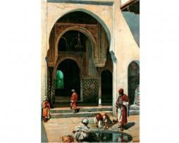 Abluciones en la mezquita