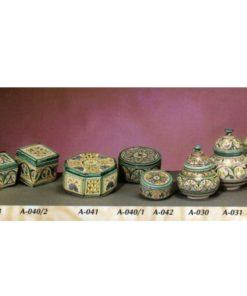 ajitas y bomboneras cerámica árabe andaluza