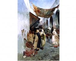 Afilador, póster con sabor de Marruecos