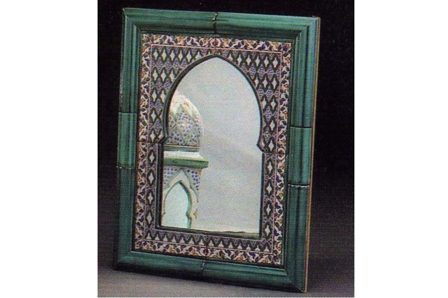 Espejo de cer mica andalus peque o decoraci n y - Espejos de ceramica ...