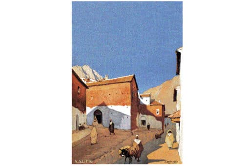 pintura de Marruecos, mariano Bertuchi