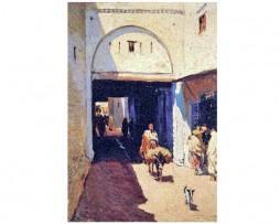 Callejuela de la Medina, Marruecos