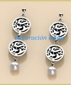 pendientes árabe plata Alhambra