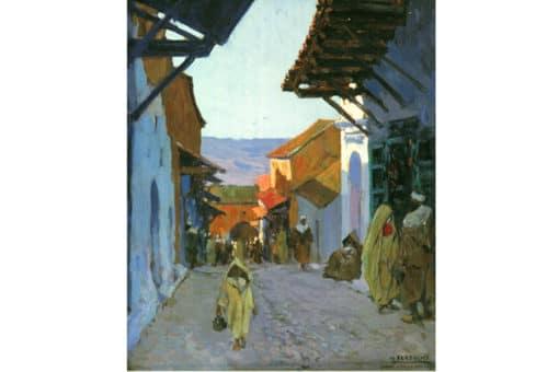 pintura de Marruecos
