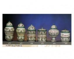 Juego farmacia, cerámica árabe andalusí, A-220-3