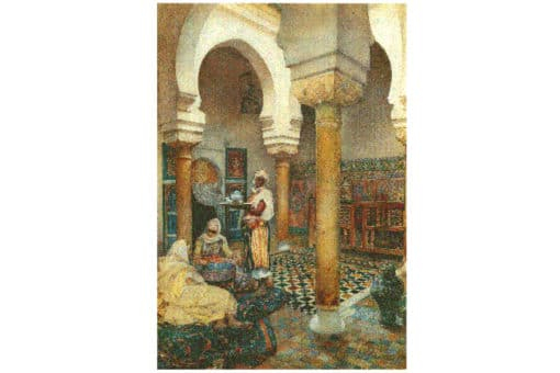 pintura de marruecos con encanto