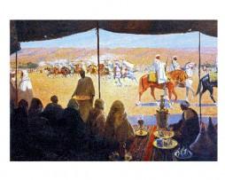 Mariano Bertuchi: Fantasía, Marruecos