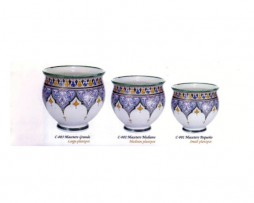 Maceteros cerámica árabe-andalusí