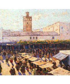 pintura de Mariano Bertuchi, Marruecos
