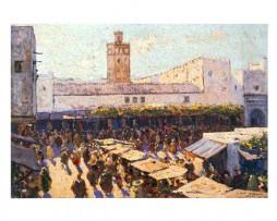 Mercado de Tetuán, Mariano Bertuchi