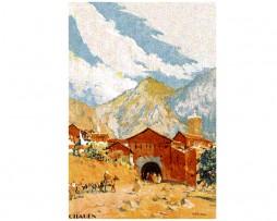 Mariano Bertuchi: Montañas de Chauen, Marruecos