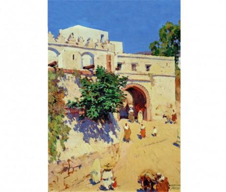 Mariano Bertuchi: Puerta de Bab Ocla