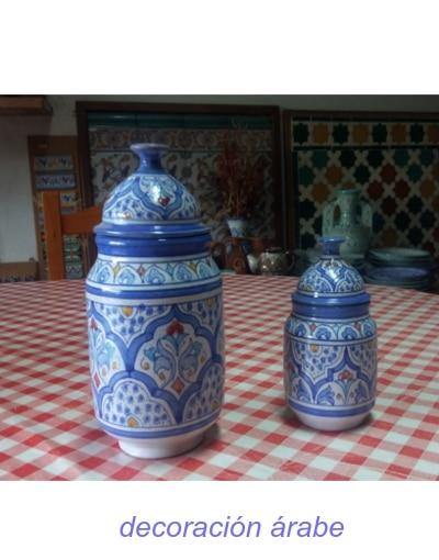 albarelos cerámica andaluza árabe