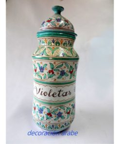 albarelo cerámica árabe andaluza