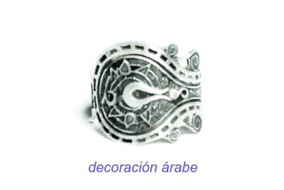 anillo árabe egipcio