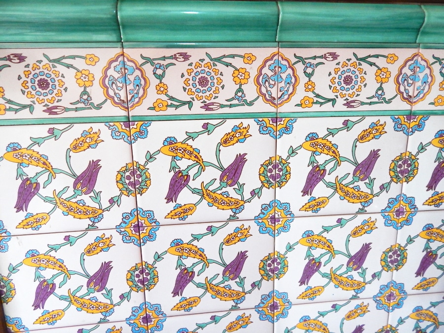 Azulejo rabe andaluz modelo flores - Azulejos pena precios ...