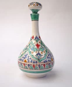 botella cerámica andaluza andalusí