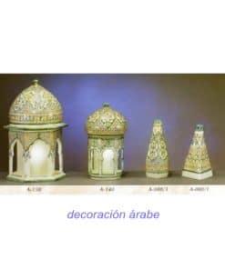 cerámica andaluza árabe botellas lamparas