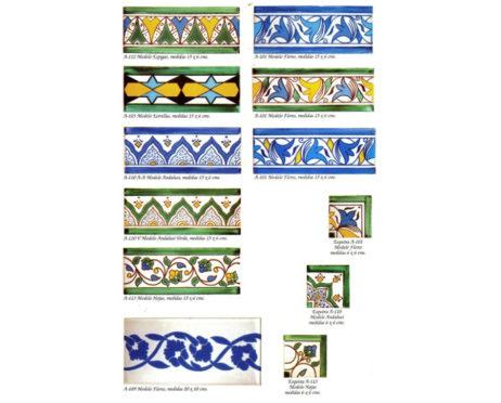 cenefas cerámica andalusis