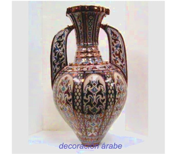 jarrón cerámica nazarí