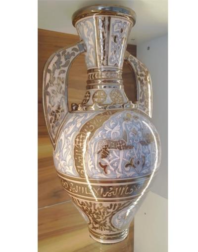 anfora de la Alhambra cerámica nazarí