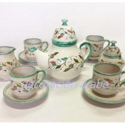 juego te cerámica andalusí