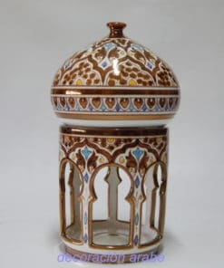 lámpara cerámica nzarí andaluza
