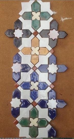 mosaico árabe nazarí Añhambra