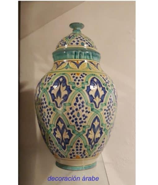 tibor cerámica andaluza árabe