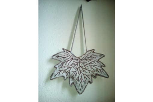 bolso artesanal cuero mujer