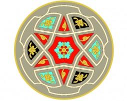 Mandala de geometría sagrada Islámica 2