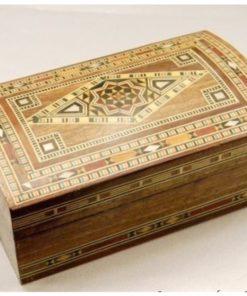 caja taracea baúl árabe
