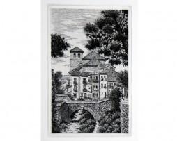 Juan luís Lirio: El Darro por Chirimías, Granada