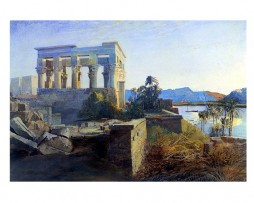 10_reproduccion_de_island_of_philae_egipto Reproducción de Island of Philae, Egypt