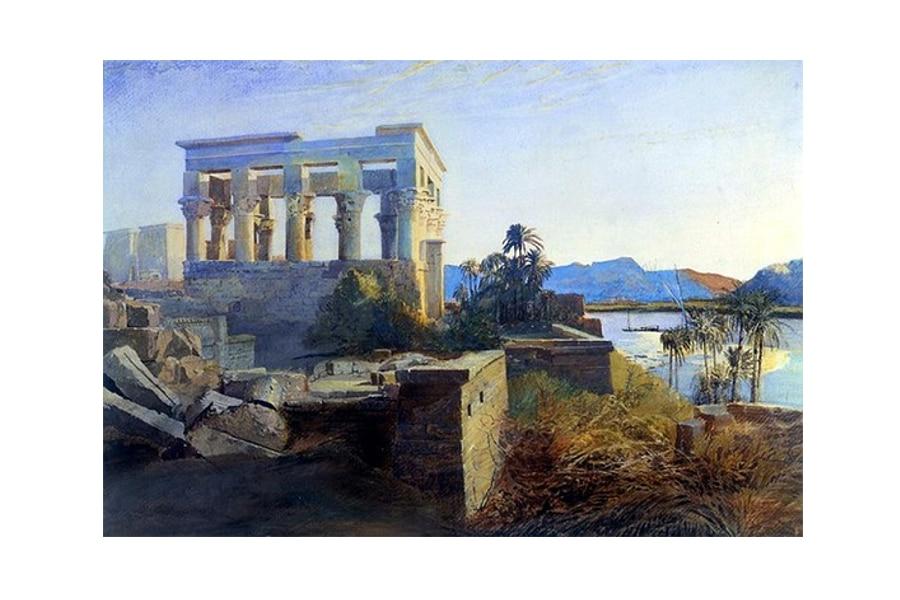 pintura orientalista Egipto