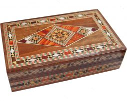 caja taracea Siria rectangular