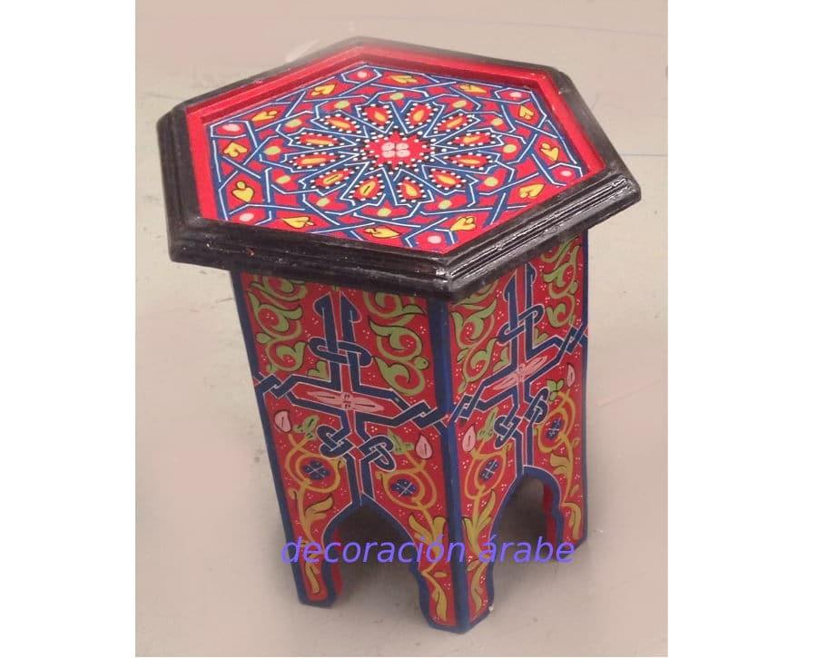 Mesa marroqu octogonal decoraci n y artesan a rabe - Comprar decoracion arabe ...