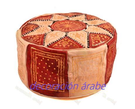 puff marroqui granate