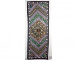 tapiz india borde negro