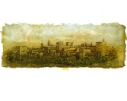 José Manuel Peña: Alhambra. Panorámica