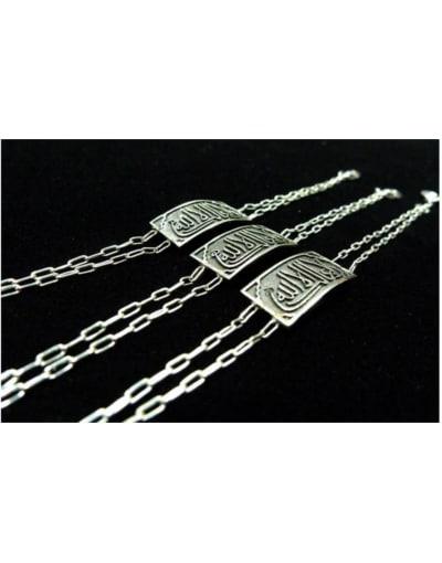 pulsera plata árabe