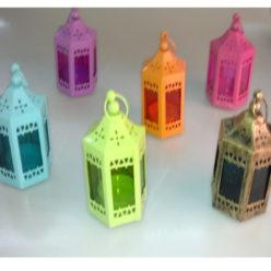 Farolillos marroquís para velas