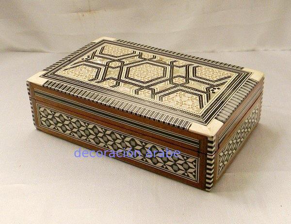 caja taracea de Egipto