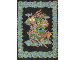 colcha india dragón: 210cmx140cm